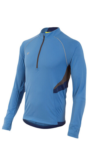 PEARL iZUMi M's Pursuit LS Shirt Sky Blue/Blue Depths